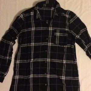 Abercrombie & Fitch Plaid Button-Down Shirt